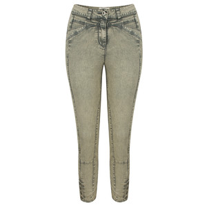 Sandwich Clothing High Waist Skinny Detail Trousers