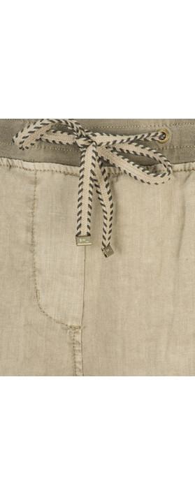 Sandwich Clothing Casual Linen Trouser Desert Sand