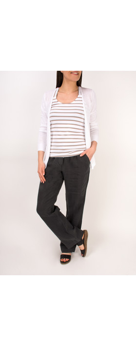 Sandwich Clothing Casual Linen Trouser Almost Black