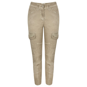Sandwich Clothing Structured Casual Trouser with Pockets