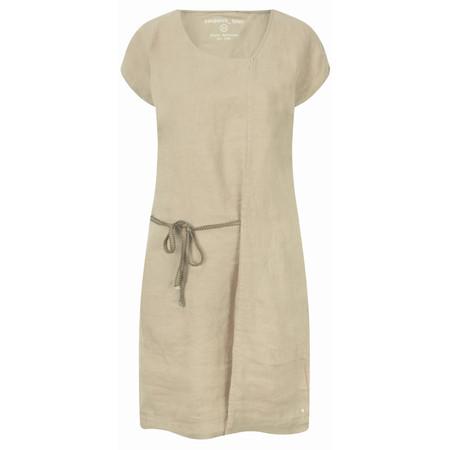 Sandwich Clothing Linen Tie Detail Dress - Beige