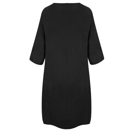 TOC  Dylann Oversized Jersey Dress - Black