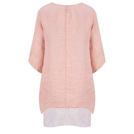 Arka Mia Double Layer Top - Pink