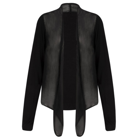 Arka Maggie Waterfall Cardi - Black