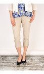 Sandwich Clothing Desert Sand Stretch Cropped Casual Trouser