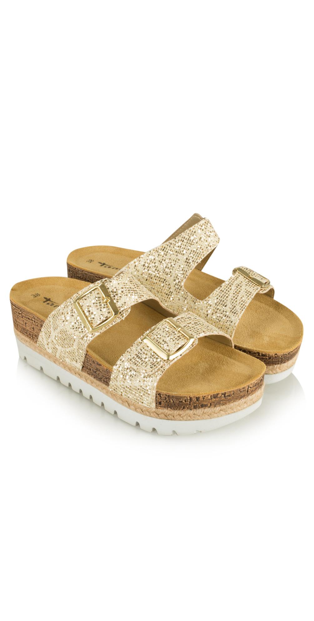 Birki Flatform Glitter Sandal main image