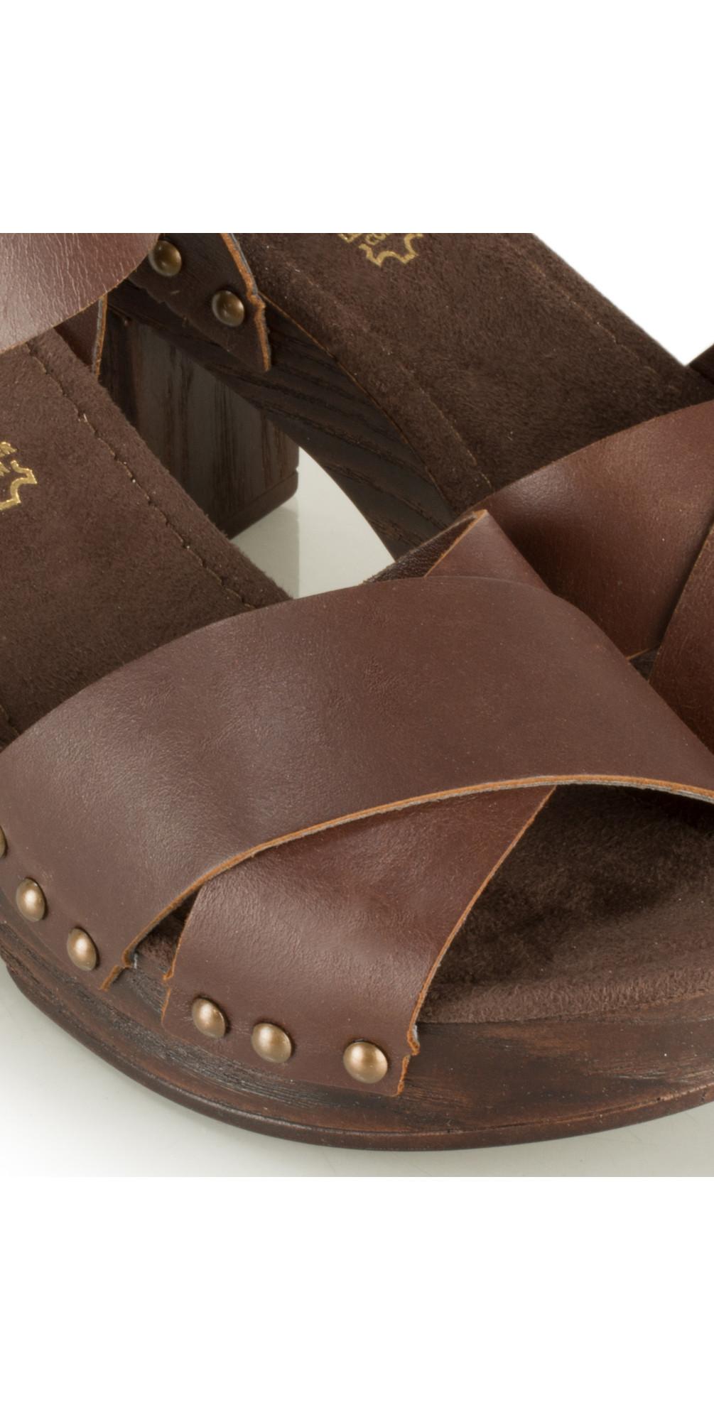 Leather Clog Sandal main image