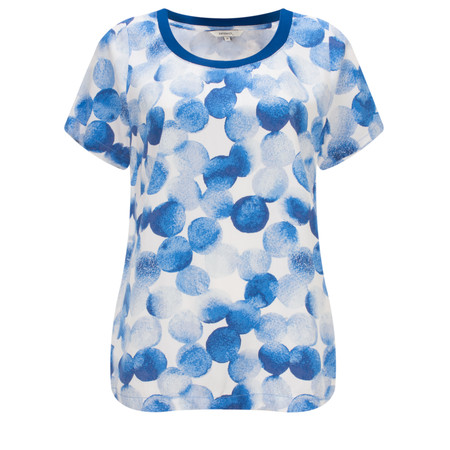 Sandwich Clothing Printed Dot Blouse - Blue