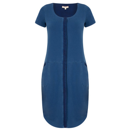 Sandwich Clothing  French Terry Jersey Dress - Blue