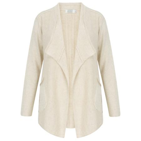 Masai Clothing Laurel A-shape cardigan  - Beige