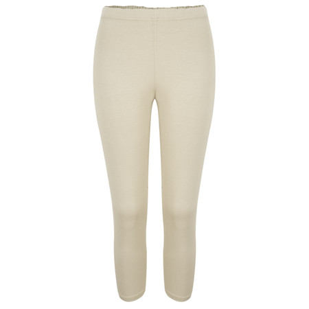 Masai Clothing Pennie Capri Leggings - Beige