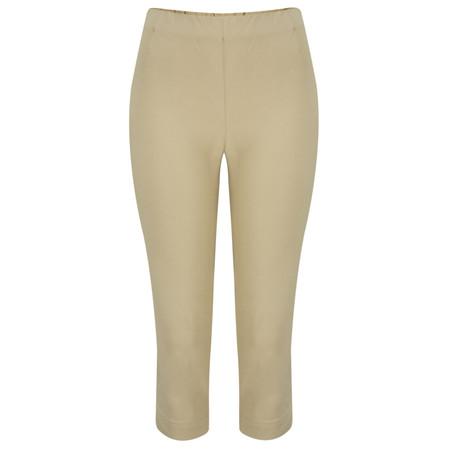 Masai Clothing Poppy Capri Trousers - Beige