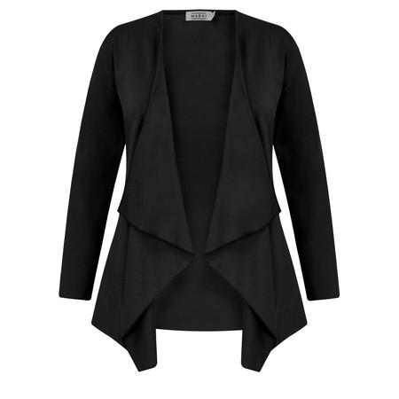 Masai Clothing Essential Itally Cardigan - Black