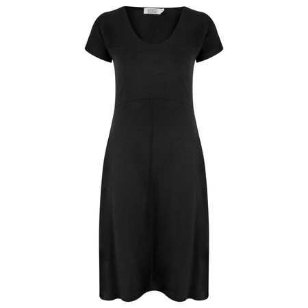 Masai Clothing Nemy Shaped Dress - Black