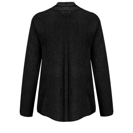 Masai Clothing Laurel A-shape cardigan  - Black