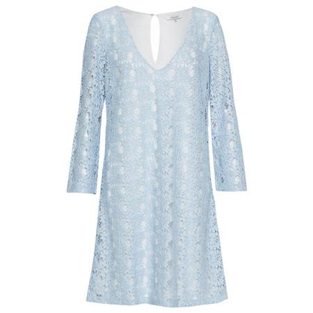 Great Plains Dandelion Lace Tunic Dress - Blue