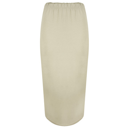 Masai Clothing Salini Fitted Skirt - Beige