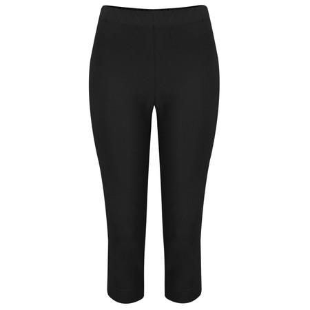 Masai Clothing Poppy Capri Trousers - Black
