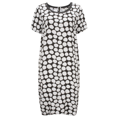 Sandwich Clothing Painted Dot Print Dress - White