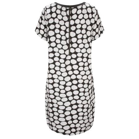 Sandwich Clothing Painted Dot Print Dress - White