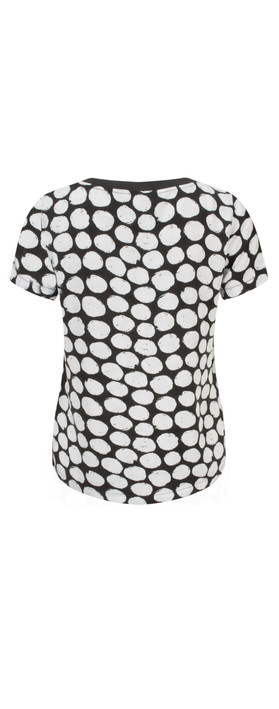 Sandwich Clothing Printed Dot Blouse Pure White