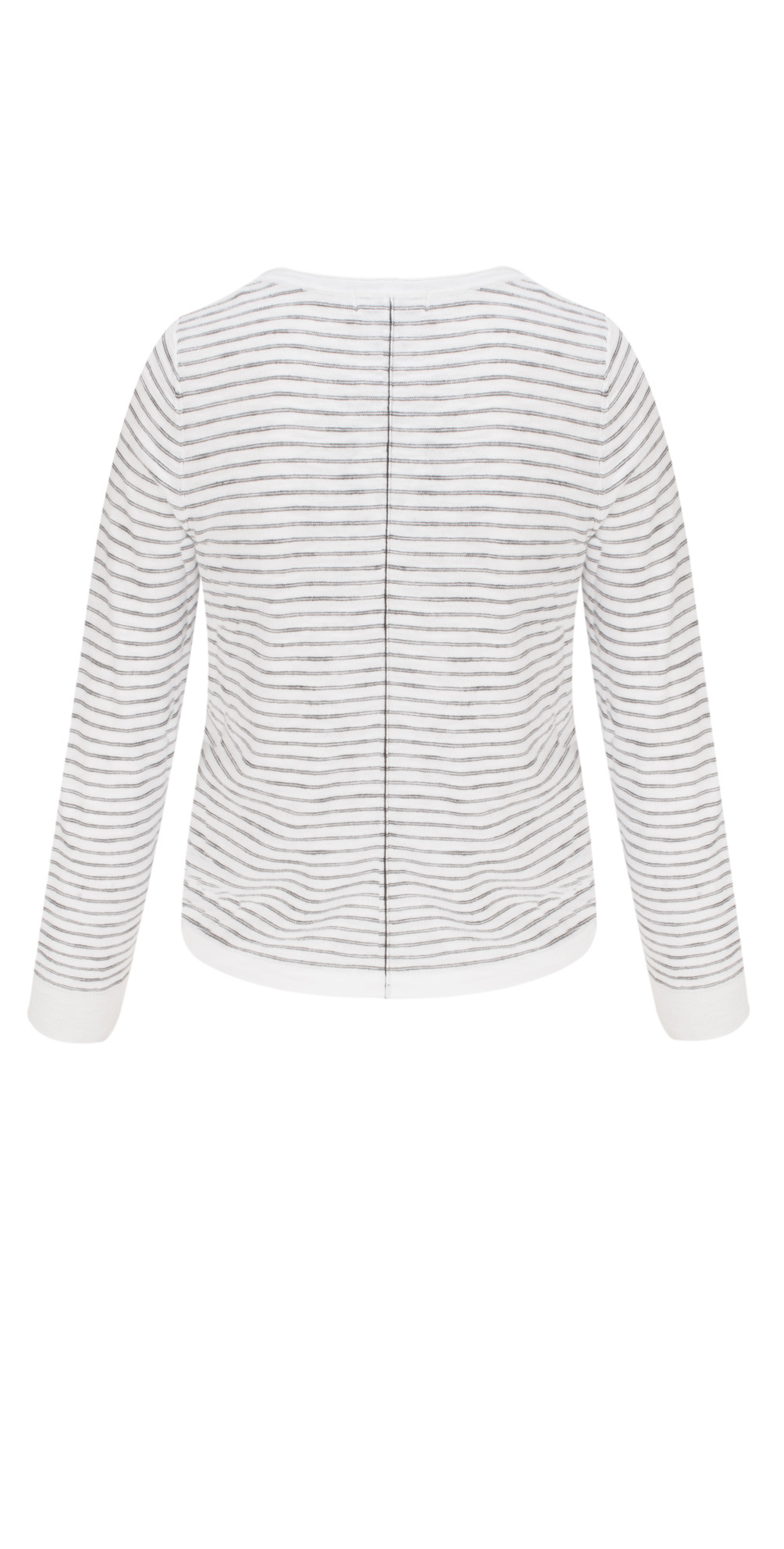 Striped Pattern Cardigan main image