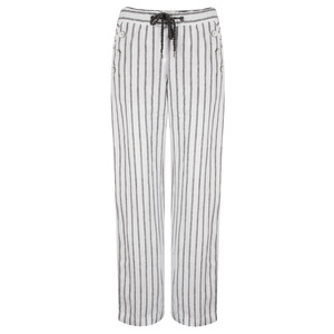 Sandwich Clothing Linen Stripe Casual Trouser