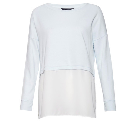 French Connection Lerato Loose Jersey - Blue