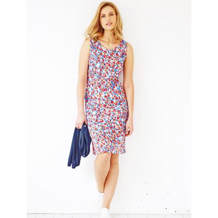 Adini Kiri Print Kiri Dress - Blue