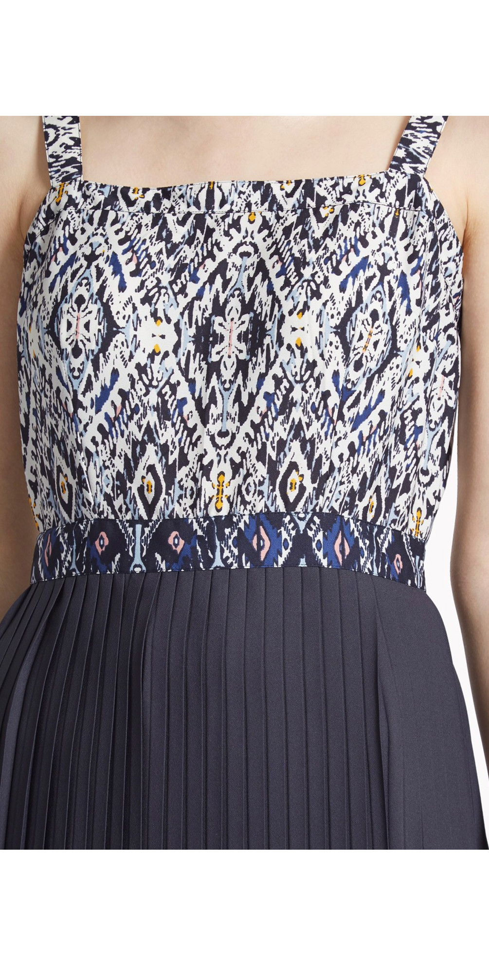 Diamond Daze Pleated Hem Dress main image