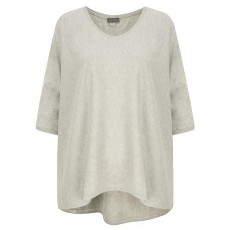 Ochre Home Oversized Cotton Jumper - Grey