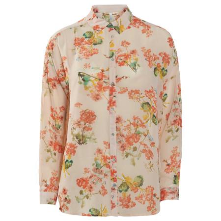 Soyaconcept Sadia Floral Print Shirt - Orange