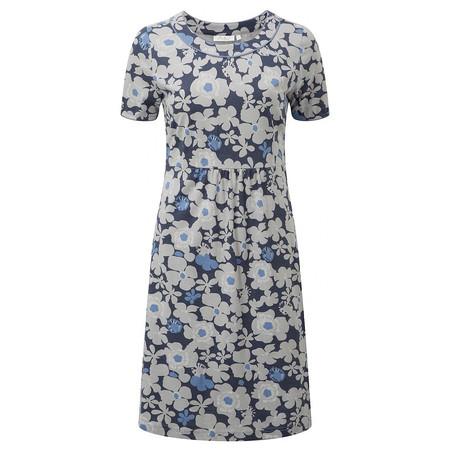 Adini Adelaide Print Skye Dress - Metallic
