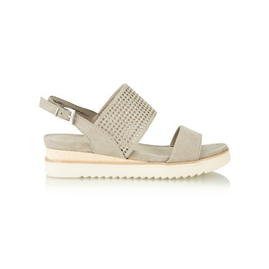 Marco Tozzi Chunky Low Wedge Sandal