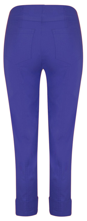 Robell Trousers Bella 7/8 Cropped Trouser  Royal Blue