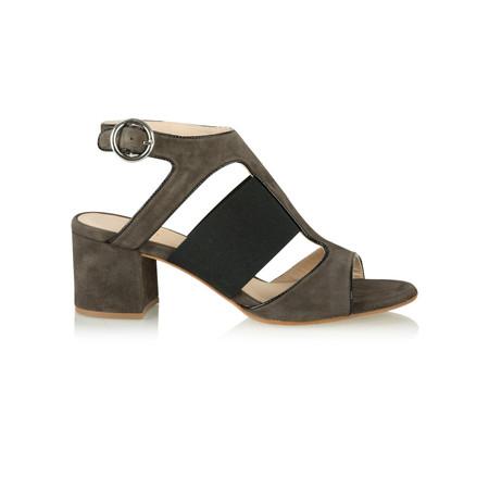 Unisa Shoes Orli Cut Out Shoe  - Brown