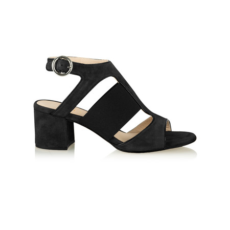Unisa Shoes Orli Cut Out Shoe  - Black