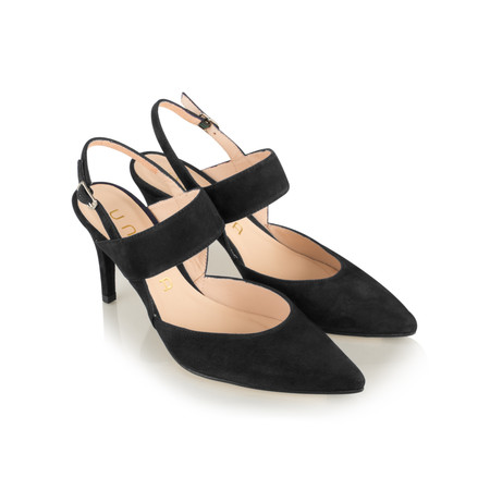 Unisa Shoes Tertu Slingback Court Shoe - Black