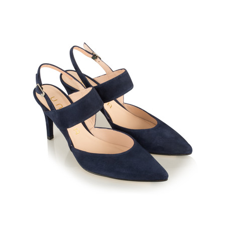 Unisa Shoes Tertu Slingback Court Shoe - Blue
