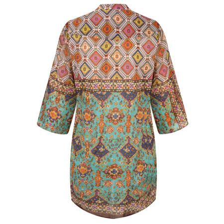 Lara Ethnics Katniss Oversized Shirt - Multicoloured