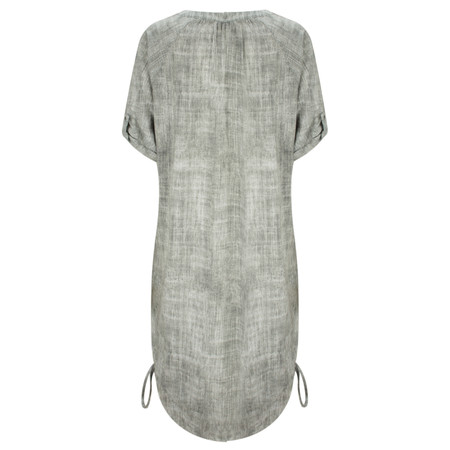 Sandwich Clothing Texture Pattern Dress - Grey