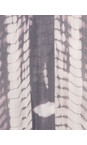 Sandwich Clothing Smoke Grey Patterned Kaftan