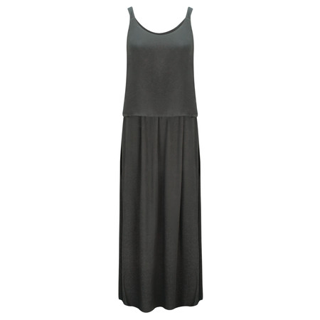 Sandwich Clothing Long Woven Dress - Black
