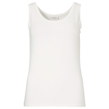 Masai Clothing Els Fitted Top - Off-white