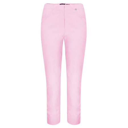 Robell Trousers Bella 7/8 Cropped Trouser  - Purple