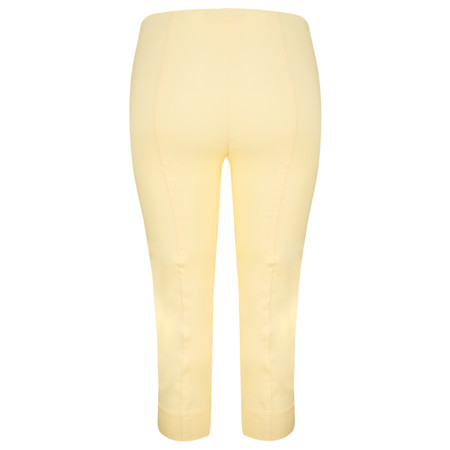 Robell Trousers Rose 07 Slimfit Cropped Trouser - Off-white