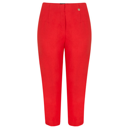 Robell Trousers Marie 07 Cropped Trouser - Red