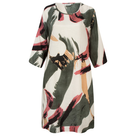 Masai Clothing Abstract Print Nani Dress - Pink