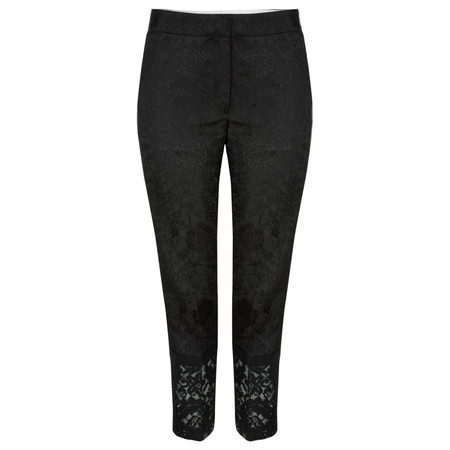 French Connection Francisco Jacquard Trouser - Black