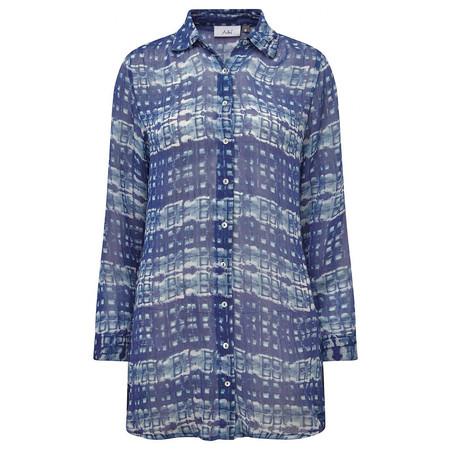 Adini Bali Shibori Mireya Shirt - Blue